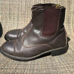 Child's Saxon Paddock Boots size USA 2